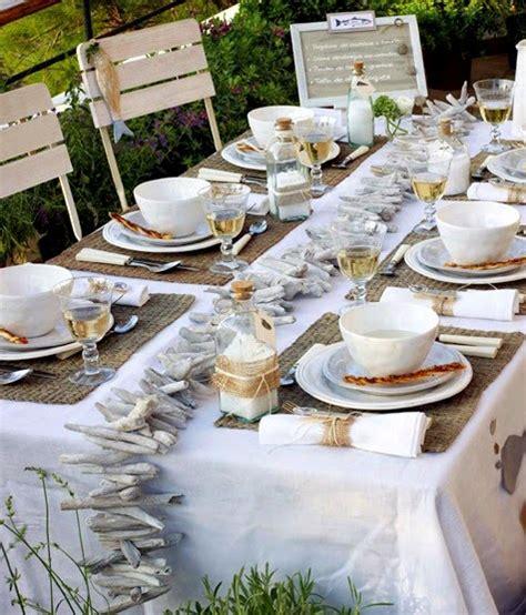 coastal decor table diy coastal summer table decorations from the