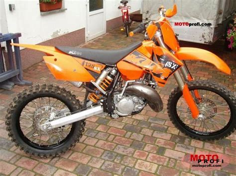 2004 Ktm 125 Sx Ktm 125 Sx 2004 Specs And Photos