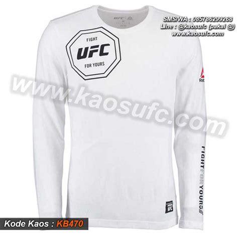 Sale Baju Kaos Lengan Panjang Cocok Untuk jual kaos ufc lengan panjang order via sms wa 085786299268