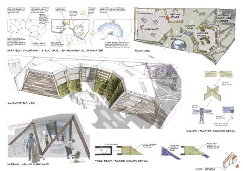 design concept architecture ppt sketch 2nd in prestigious flitched competition leading