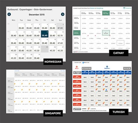 Delta Low Fare Calendar The State Of Airline Websites 2015 Lessons Learned