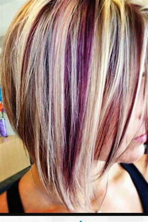 hair color pictures blonde purple lowlights follow my pinterest vickileandro colorful hair