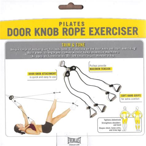 Door Knob Exerciser everlast pilates door knob rope fitness exerciser nib ships asap ebay
