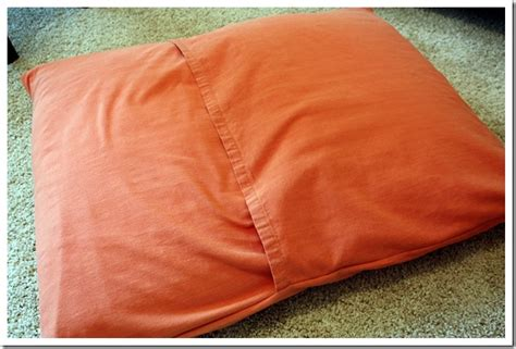 how to make a dog pillow bed how to make a dog bed step by step with photos easy