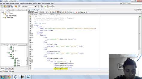 imagenes formularios html como hacer un formulario en html youtube