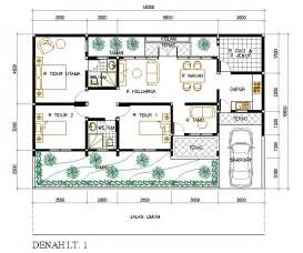 rumah asri pada lahan melebar 15 m x 10 m eramuslim