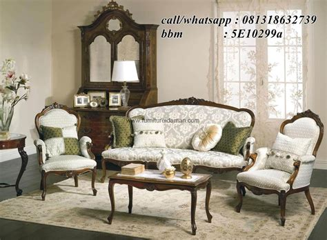 Sofa Angin Di Ace Hardware set sofa tamu klasik ksi 06 furniture idaman furniture idaman