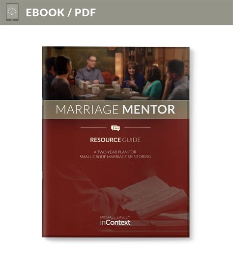 mentor bible study book revised how along the way discipleship can change your books marriage mentor study guide michael easley incontext