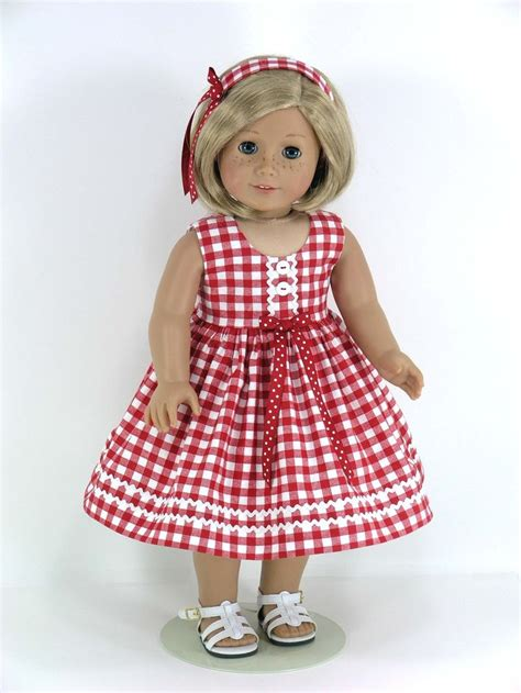Opa Gingham Style 279 best ag gingham images on 18 inch doll ag
