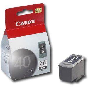 Terlaris Cartrigde Canon 40 Black canon pg 40 black ink cartridge original