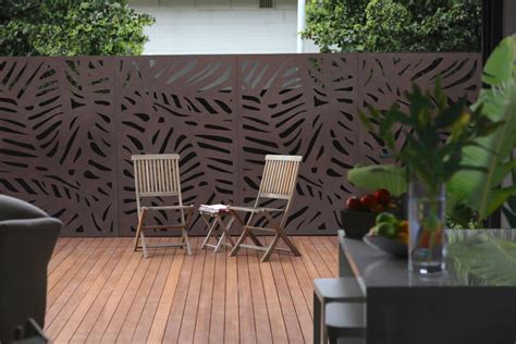 decorative outdoor screens decorative outdoor privacy screens outdeco modular