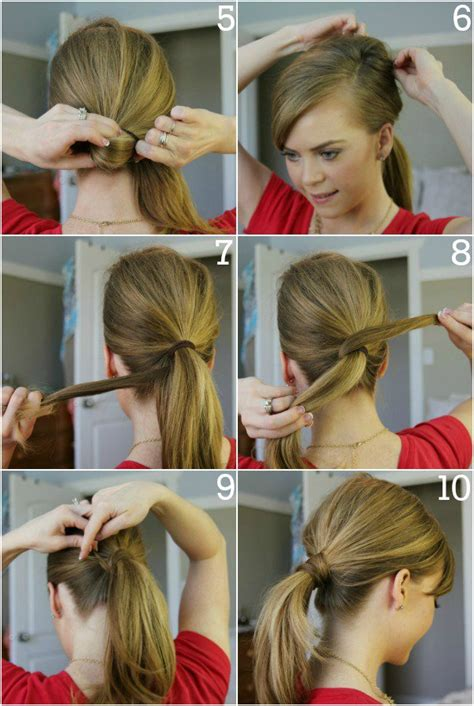 easy sleek updos step by step 15 simple hairstyle ideas ready for less than 2 minutes