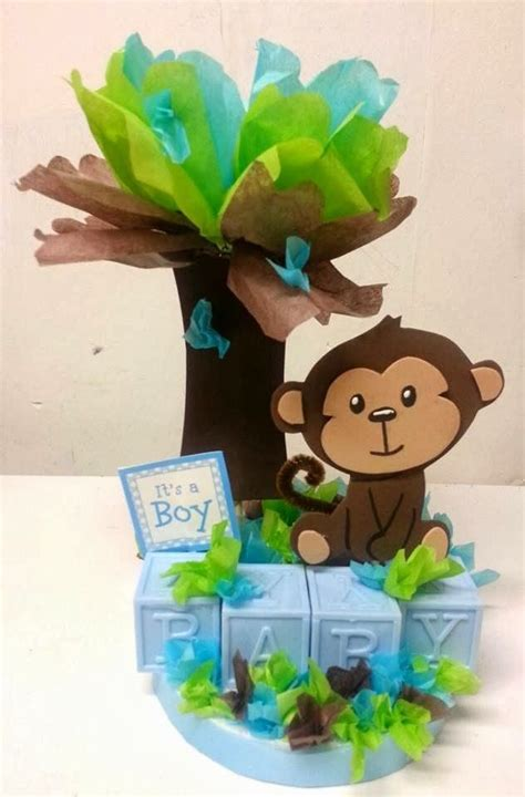 Monkey Themed Baby Shower Centerpieces by Best 20 Baby Shower Monkey Ideas On Monkey