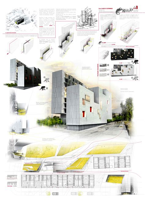 architectural layouts kmaleon gea presenting architecture pinterest
