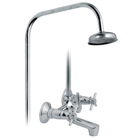 wall mounted bath shower mixer taps buy vado vecta exposed bath shower mixer tap wall mounted with 3 4 threaded outlet with rigid
