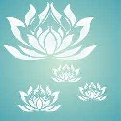 Lotus Stencil 17 Best Ideas About Stencils For Painting On