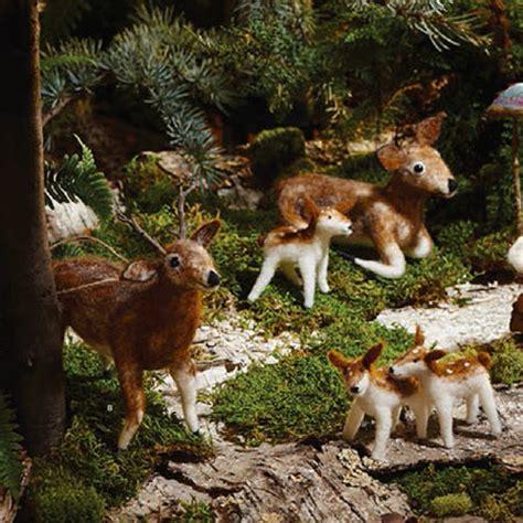 deer ornaments 5 x tree deer family ornaments nova68