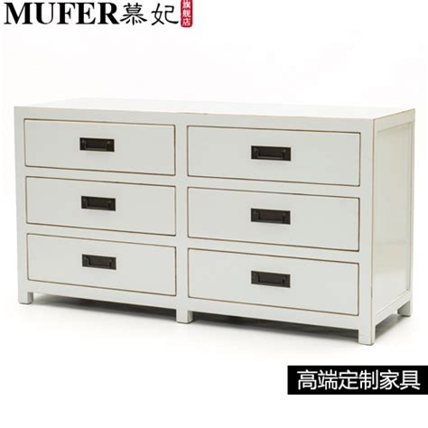 Living room minimalist new Chinese wood cabinets Drawers Sideboard antique furniture TV cabinet