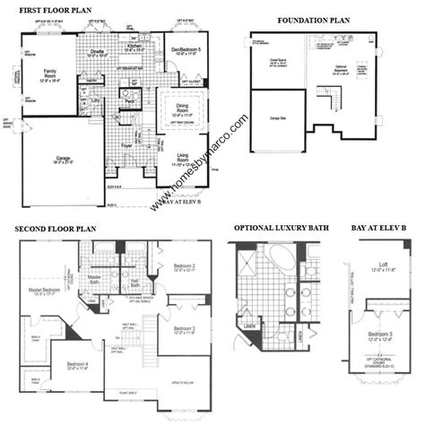 floor plan model riverton model in the northwood trails subdivision in lake villa illinois homes by marco