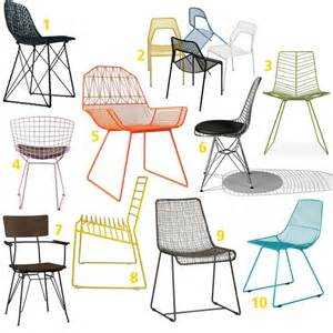 wire and metal mesh dining room chairs product roundup