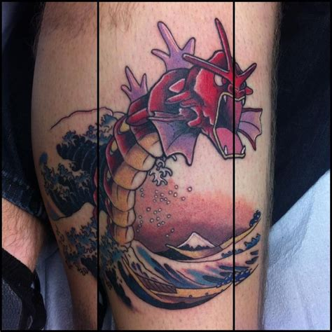 tattoo seen awesome gyarados seen on reddit things i like