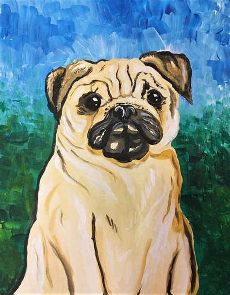 pug paint paint your pug fundraiser create it