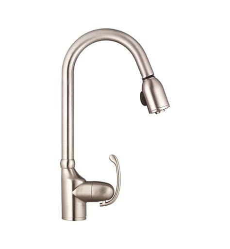 danze pull down kitchen faucet danze d454520ss anu single handle pull down kitchen