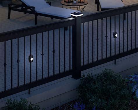 Solar Lights For Deck Railings Classic Solar Lights Deckorators
