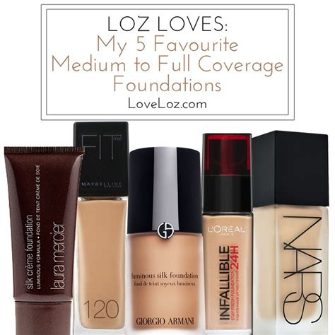 best foundation for coverage best full coverage foundation for 2015 1000 ideas about