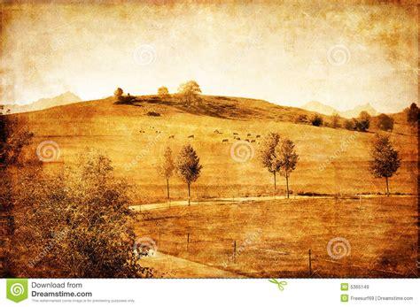 Vintage Landscape Pictures Vintage Landscape Royalty Free Stock Images Image 5365149