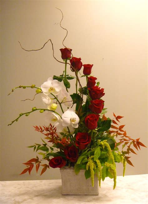 unique flower arrangements unique valentine s rose arrangement designed by kari