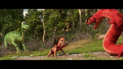brontosaurus only looks angry because it never technically existed a trailer for the new pixar movie is out yes it might