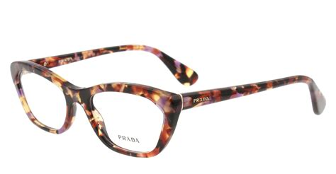 new prada eyeglasses cat eye vpr 03q multi color pdn