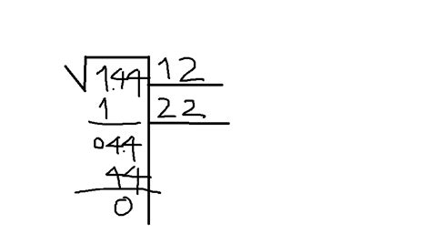 raiz cuadrada 144 procedimiento de la ra 237 z cuadrada de 144 brainly lat