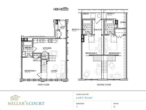 loft blueprints one bedroom with loft plans elegant interiors decor accents