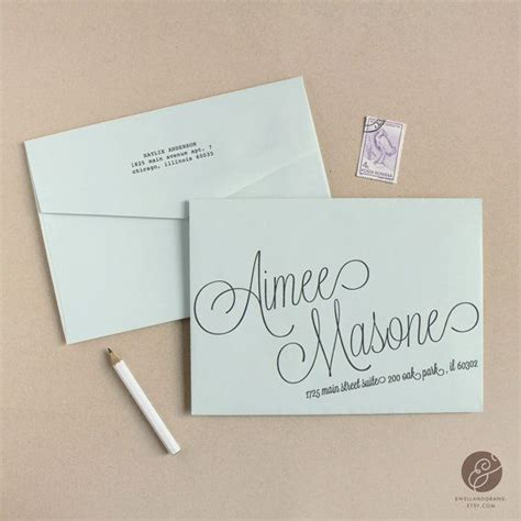 address template for envelopes best 25 envelope templates ideas only on