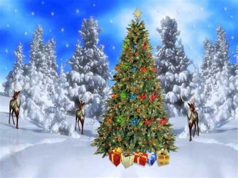 animated christmas scenes youtube