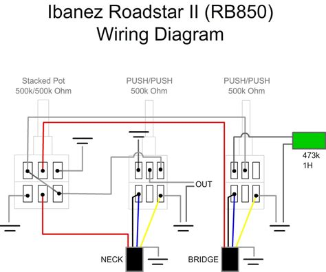 ibanez silver series wiring diagram get free image about