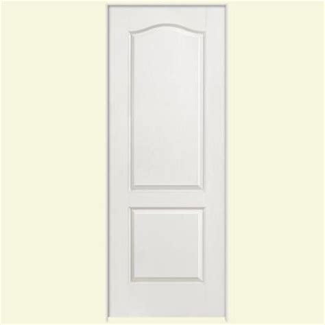 masonite textured 2 panel arch top hollow primed