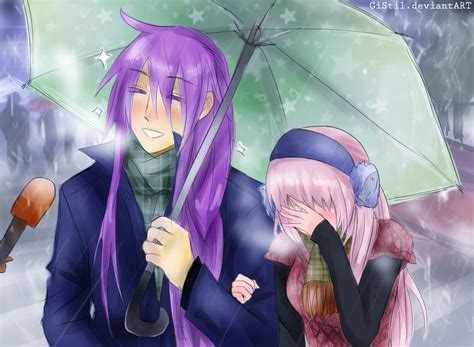 Japanese Umbrella Meme - gakuluka japanese couple umbrella meme by gistil on deviantart
