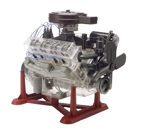 Moteur Modelisme revell visible v 8 engine 1 4 scale with moving pistons