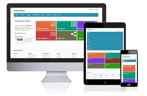 website maker php website builder script automatic site creator