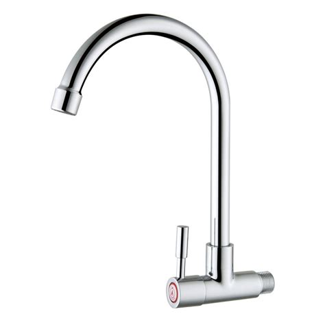 Cheapest Kitchen Faucets by Cheap Wall Mounted Cold Water Only Copper Kitchen Faucet