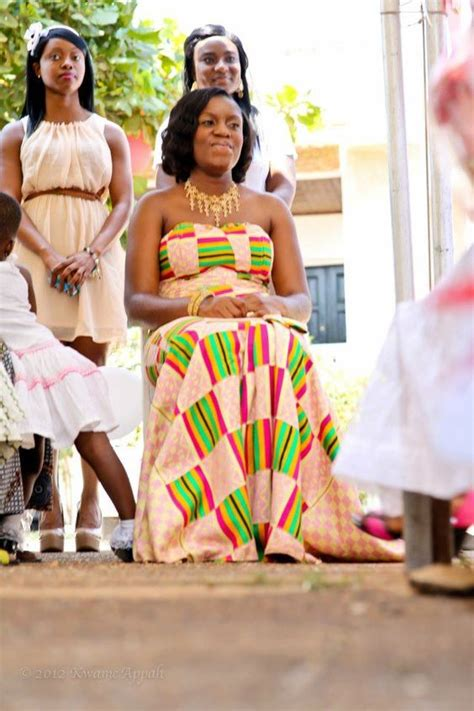 group kente styles traditional ghanaian bride wedding engagement