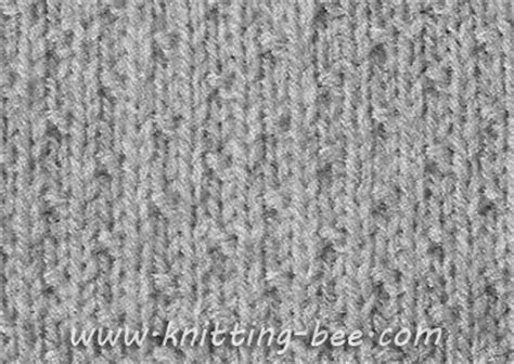 increase knit stitch at end of row free dot stitch knitting pattern cast on of 4