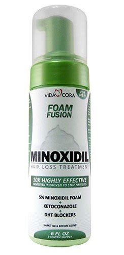 reducing 5ar in the blood vida cora minoxidil foam fusion 10x highly effective