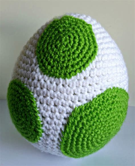 crochet pattern yoshi yoshi egg amigurumi crochet pattern pdf by