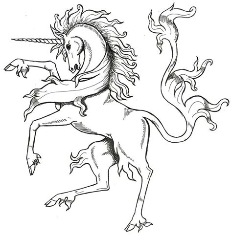 medieval horse coloring page medieval unicorn by tana san on deviantart