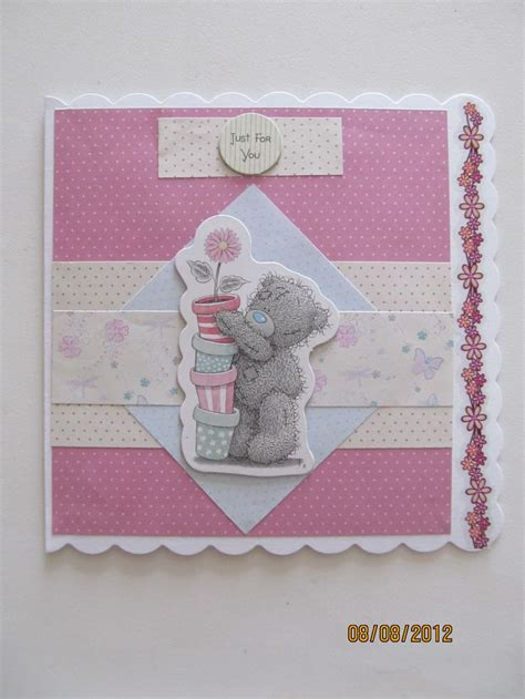 Handmade Teddy Cards - 17 best images about tatty teddy cards on