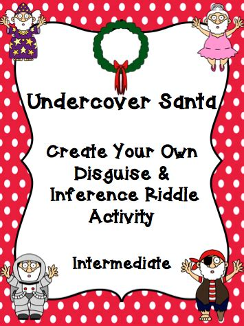 santa riddles undercover santa mrs o knows